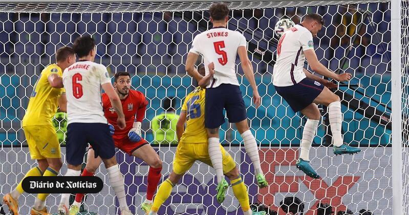 Inglaterra goleia Ucrânia e defronta Dinamarca nas meias-finais