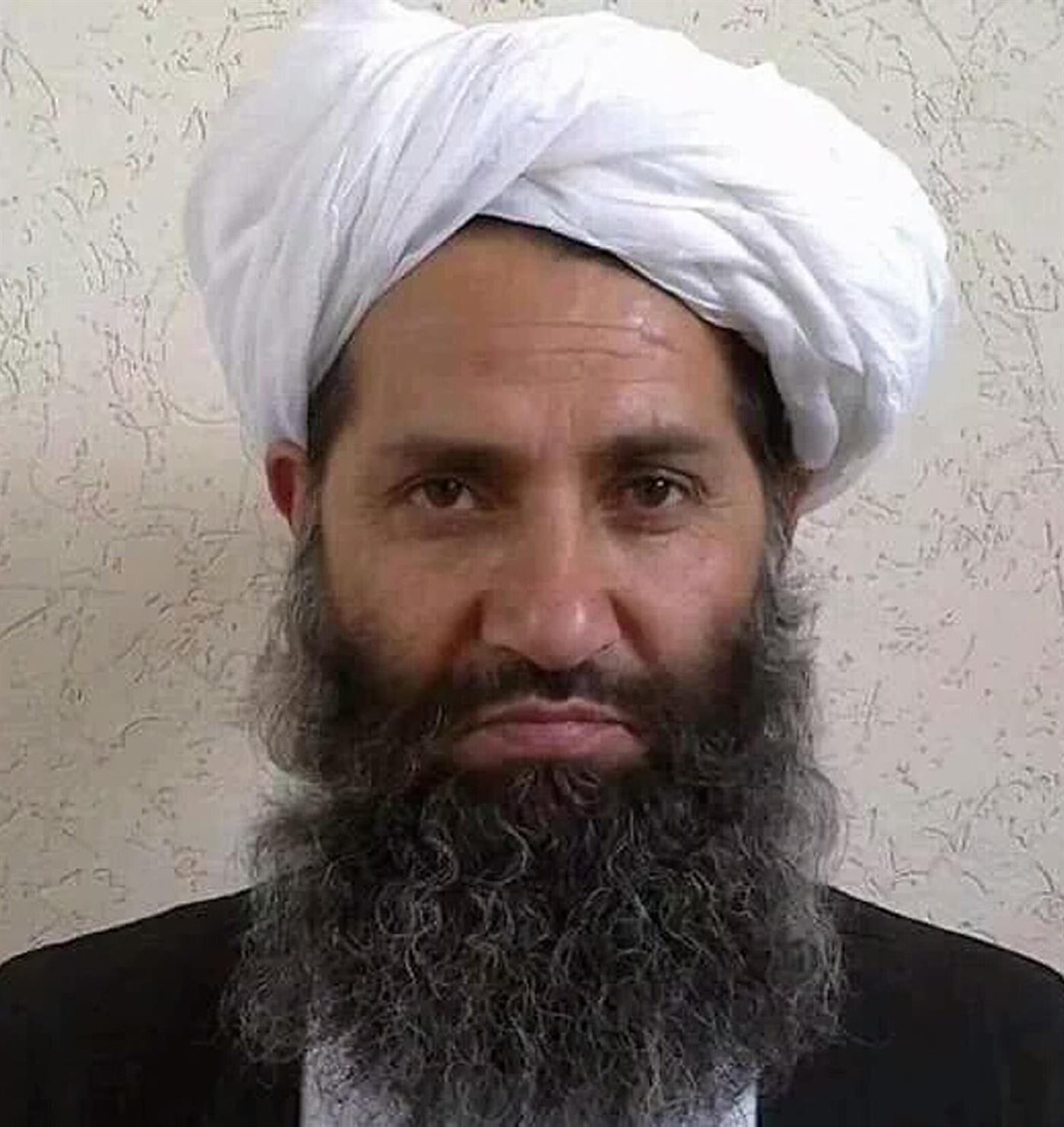O líder dos talibãs desde maio de 2016 é Haibatullah Akhundzada.