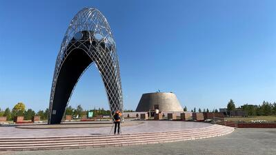 Museu e Memorial no local onde se situava o campo ALZHIR