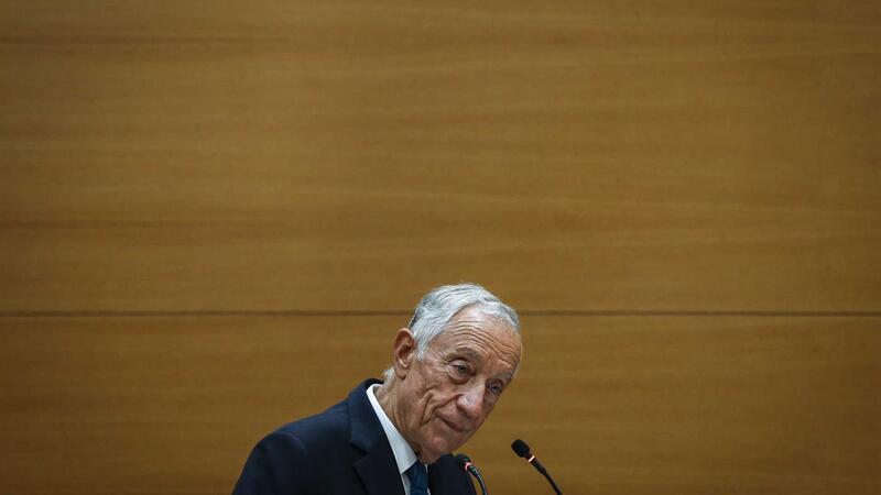 O Presidente da República, Marcelo Rebelo de Sousa.