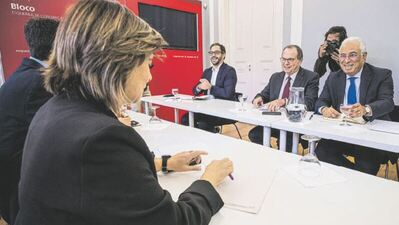 OE2022: Governo afirma que há avanços nas negociações com o BE e novas reuniões previstas