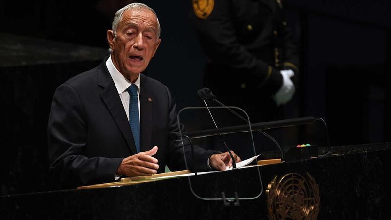 """Marcelo: """"Portugal está ao lado dos consensos que resolvam as crises"""""""