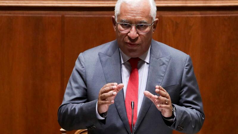 O primeiro-ministro, António Costa.