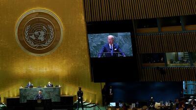 Joe Biden discursou depois de Jair Bolsonaro. O presidente do Brasil é tradicionalmente o primeiro a