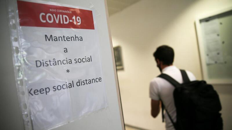 Mais 20 pessoas internadas nas últimas 24 horas, oito das quais em UCI