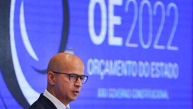 O ministro das Finanças, João Leão, fala sobre a proposta governamental de Orçamento do Estado para 2022