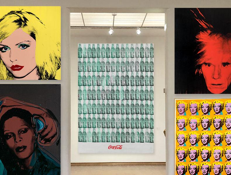 Uma Visita Virtual à Exposição De Andy Warhol Na Tate Modern