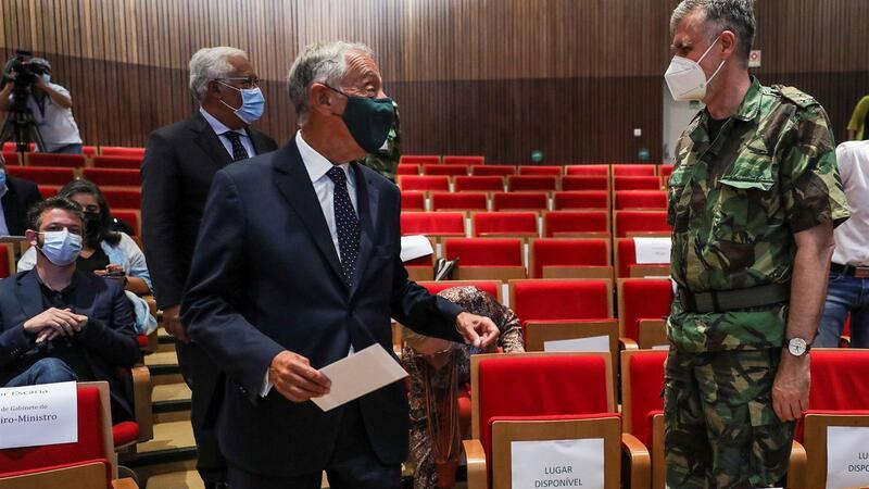 Marcelo elogiou processo de vacinação