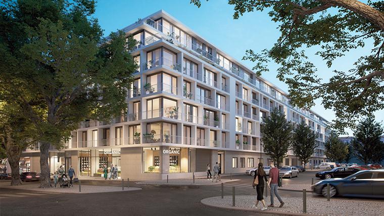 O Lumino Campo Pequeno, cuja primeira fase fica concluída no segundo semestre de 2022, com 97 apartamentos