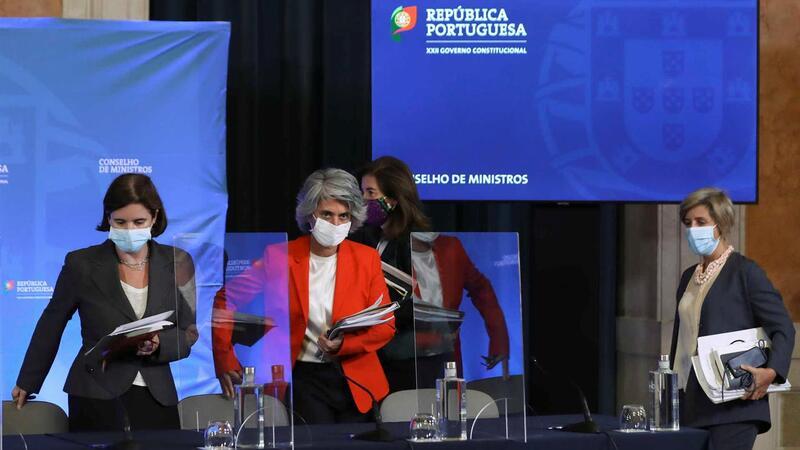 Quatro ministras apresentaram ontem conclusões do  Conselho de Ministros: Mariana Vieira da Silva (Presidência)