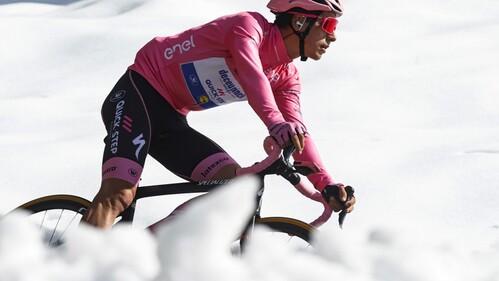 João Almeida é líder do Giro pelo quinto dia. ″Já estou a