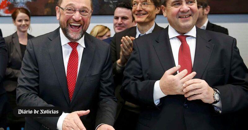 Schulz contra Merkel nas eleições, mas ″geringonça″ pouco provável