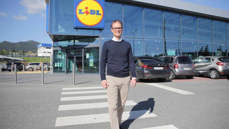 Bilhões - 11/10/2020.  Alexander Fritsch, CEO da Lidl Portugal.  (PAULO SPRANGER / Global Imagens)