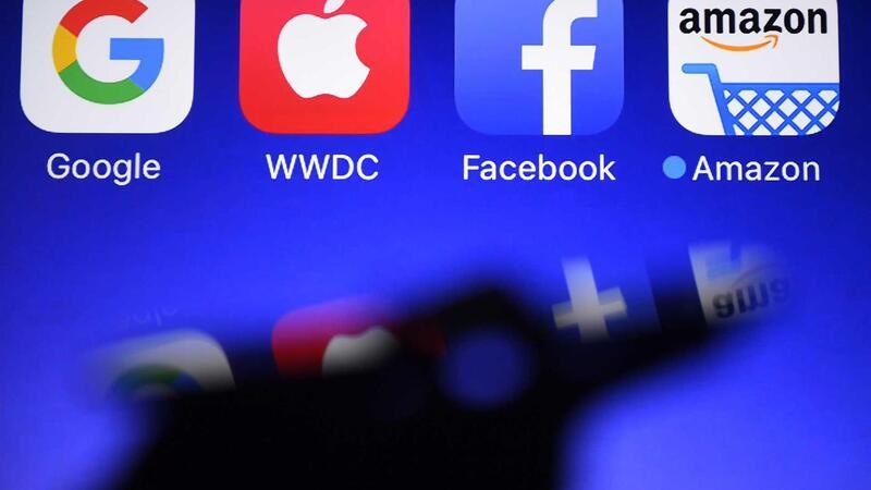 GAFA - Google, Apple, Facebook e Amazon, as quatro maiores empresas de tecnologia da América do Norte.