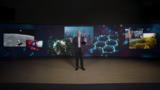 Brad Smith, presidente da Microsoft, na sua apresentação durante o CES 2021
