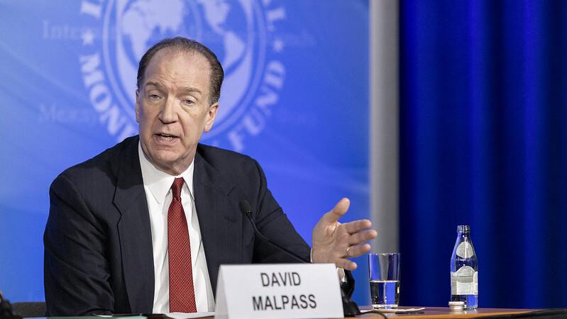 World Bank President David Malpas.