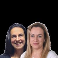 Liliana Delgado e Márcia Patrício