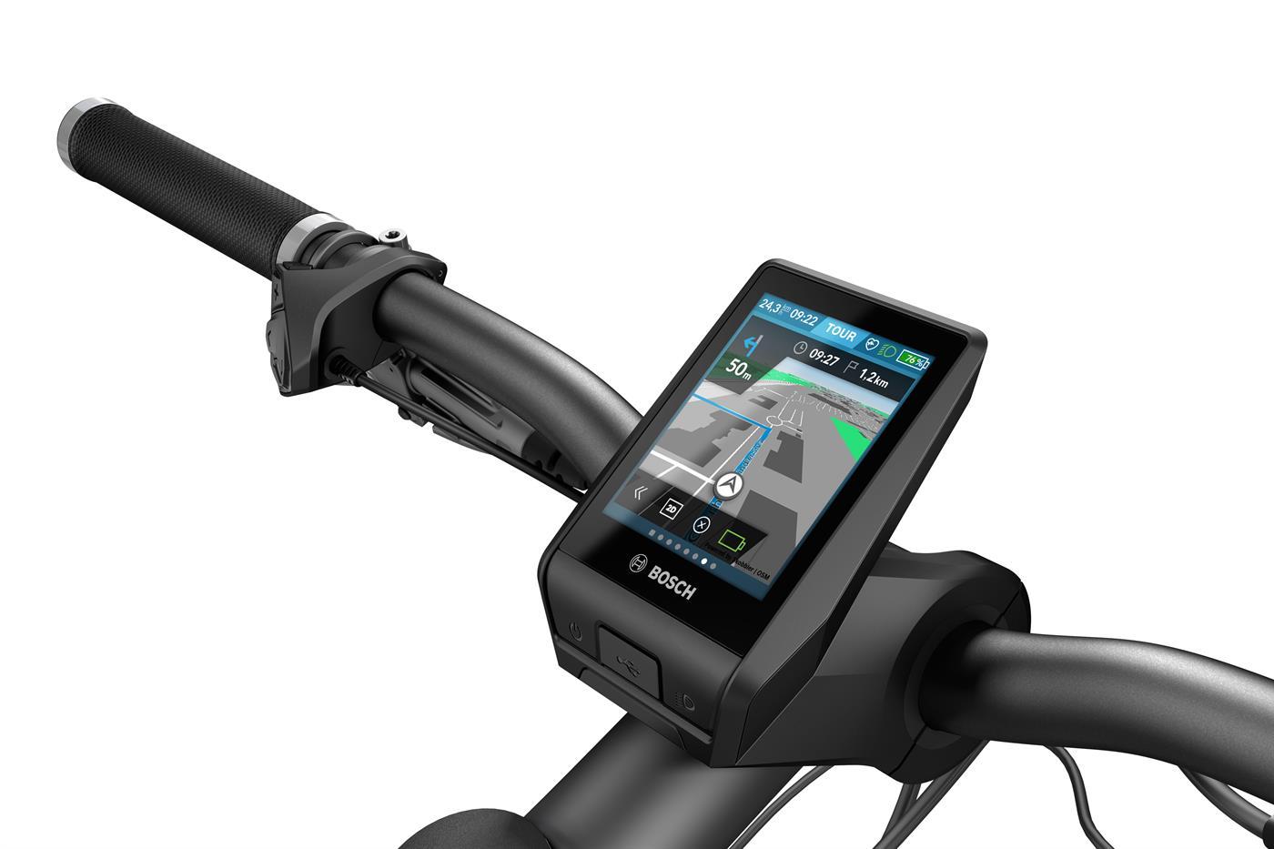 Intelligentes GPS-Elektrofahrrad