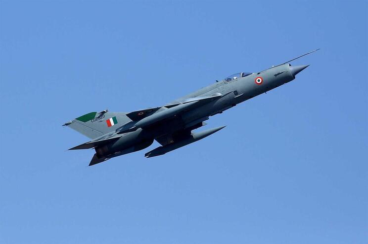 Índia reportou perda de um MIG-21