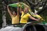 Apoiantes de Bolsonaro saíram à rua e pediram fim do isolamento