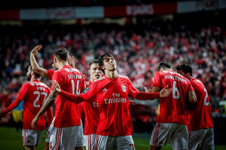 Máquina goleadora do Benfica bate recorde europeu