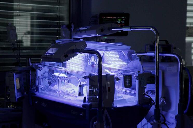 Serviço de neonatologia do Hospital de São João, no Porto