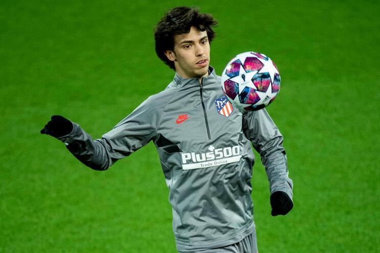 João Félix voltou aos treinos no Atlético de Madrid
