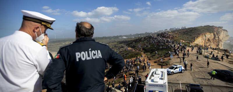 """""""Doideira"""" inesperada na Nazaré leva autarquia a ponderar novas medidas"""