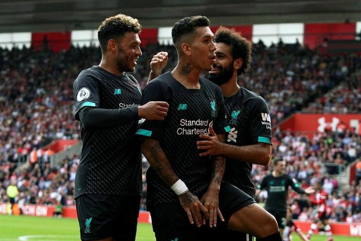 Liverpool vence em Southampton e Marco Silva tem primeiro triunfo