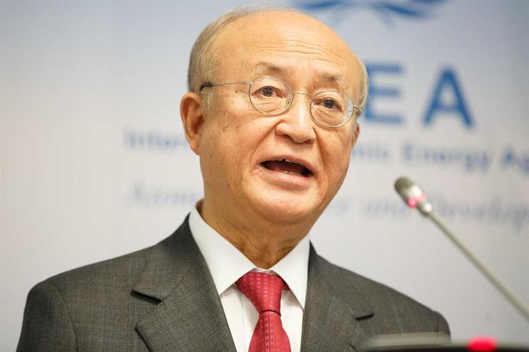 Yukiya Amano, diretor-geral da Agência Internacional de Energia Atómica