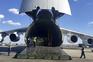 Avião russo com material médico aterra em Nova Iorque