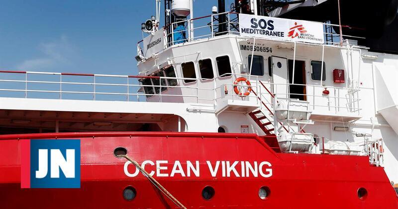 """""""Ocean Viking"""" pediu a Malta e Itália para desembarcar 365 migrantes"""