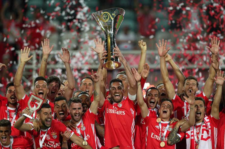 O Benfica é o detentor da Supertaça Cândido Oliveira