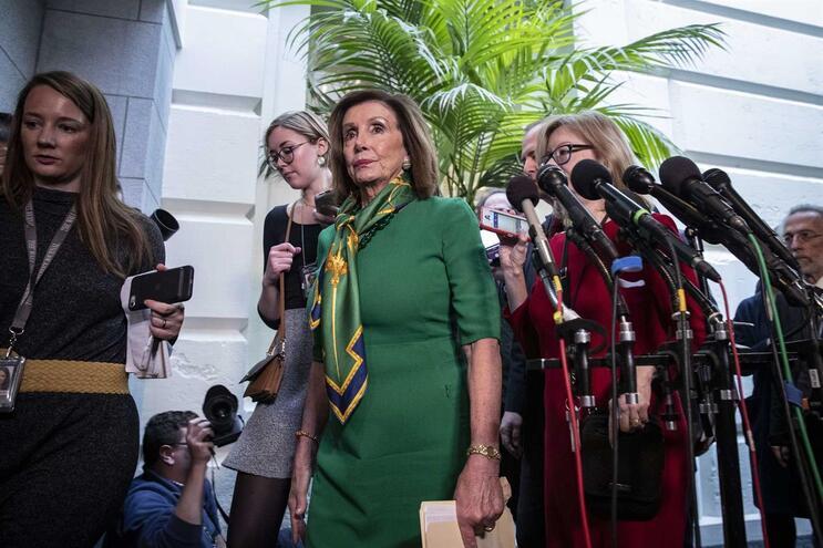 Nancy Pelosi, presidente da Câmara dos Representantes