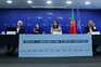 Conferência de imprensa da DGS com Rui Portugal, Jamila Madeira e Luís Goes Pinheiro