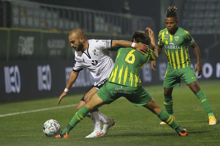 André André marcou o primeiro golo do V. Guimarães na vitória por 2-0 em Tondela