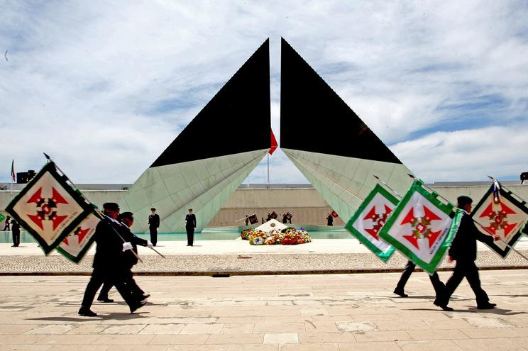 Monumento aos Combatentes do Ultramar, em Belém, Lisboa