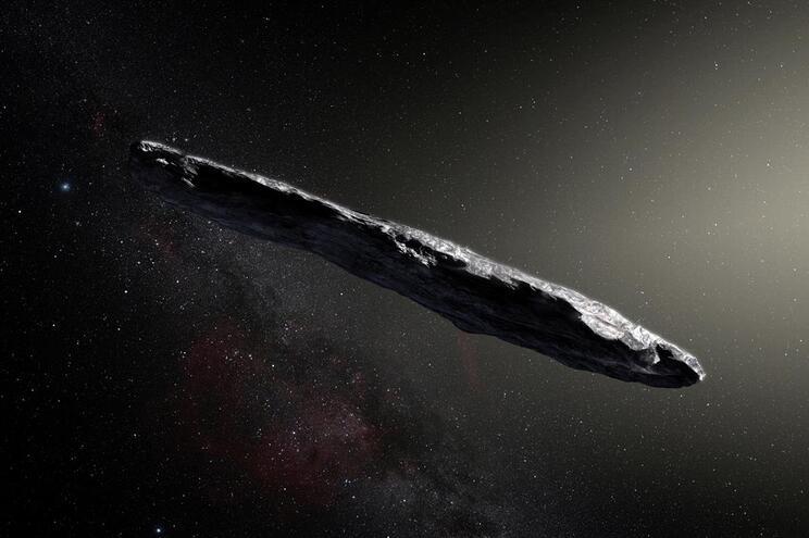 Oumuamua, captado pelo Observatorio Europeu do Sul/M. Kornmesser