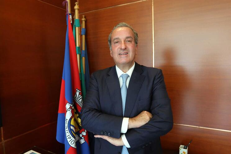 António Silva Tiago, presidente da Câmara da Maia