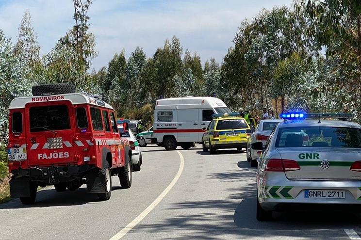 Local do acidente mortal para motociclista