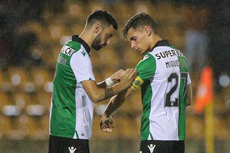 Miguel Luís e Tiago Ilori titulares no Sporting frente ao Tondela