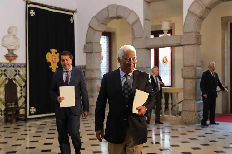 António Costa entregou a lista dos ministros do próximo Governo a Marcelo