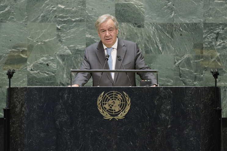 O secretário-geral da Organização das Nações Unidas (ONU), António Guterres