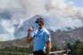 Mais de 150 bombeiros combatem as chamas em Lindoso