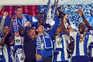 Sergio Conceição , Casillas e Danilo  levantam a Taça de Portugal
