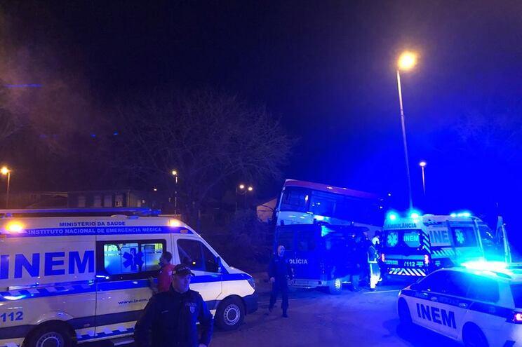 Vídeo do local do acidente que matou duas pessoas em S. Mamede de Infesta