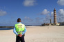 GNR em patrulha na praia da Barra