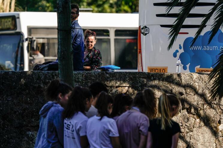 O reitor, a Associação Académica e a Junta de Gualtar, em Braga, manifestaram-se contra o regresso das