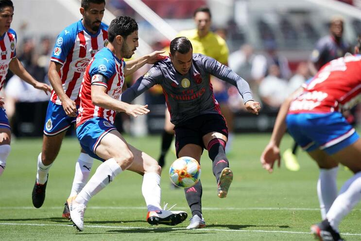 Benfica vence Chivas na estreia na International Champions Cup