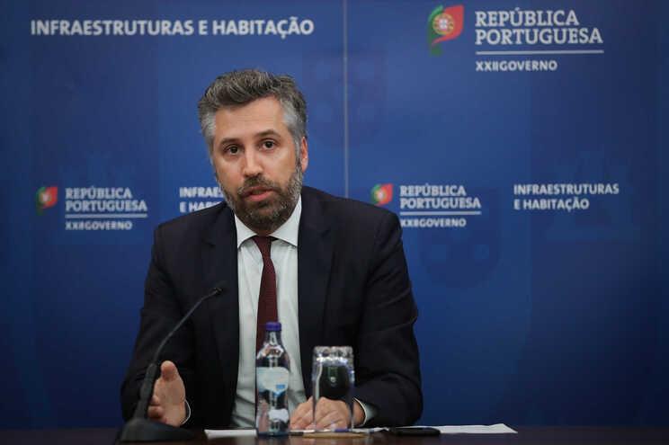 Ministro das Infraestruturas e da Habitação, Pedro Nuno Santos